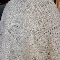 Пуховий платок паутинка 85*85 см