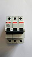 Автоматический выключатель ABB (3Р, 63 А, C) 4.5 кА