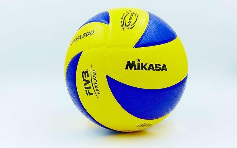 Мяч волейбольный Клееный PU MIKASA MVA-300