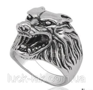 Кольцо с тигром, размер 9 USA