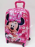 """Детский чемодан дорожный, """"Минни Маус - 3"""" на четырех колесах 520292, фото 1"""