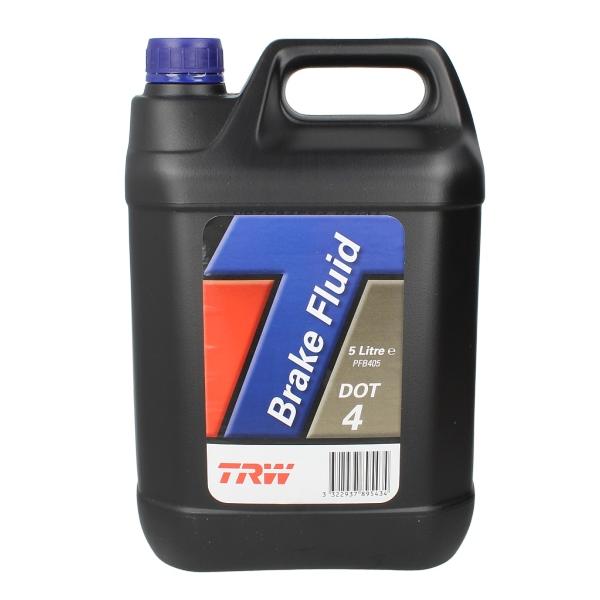 Тормозная жидкость TRW Brake Fluid DOT4 5л