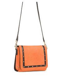 Женская кожаная сумка с тиснением ZK21-1029 Eleganzza