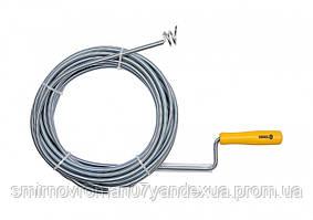 Трос пружний для чистки каналізаційних труб VOREL, Ø= 9 мм, l= 10 м  [4/8]