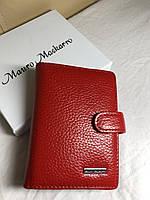 Визитница на кнопке Mauro Maskarro