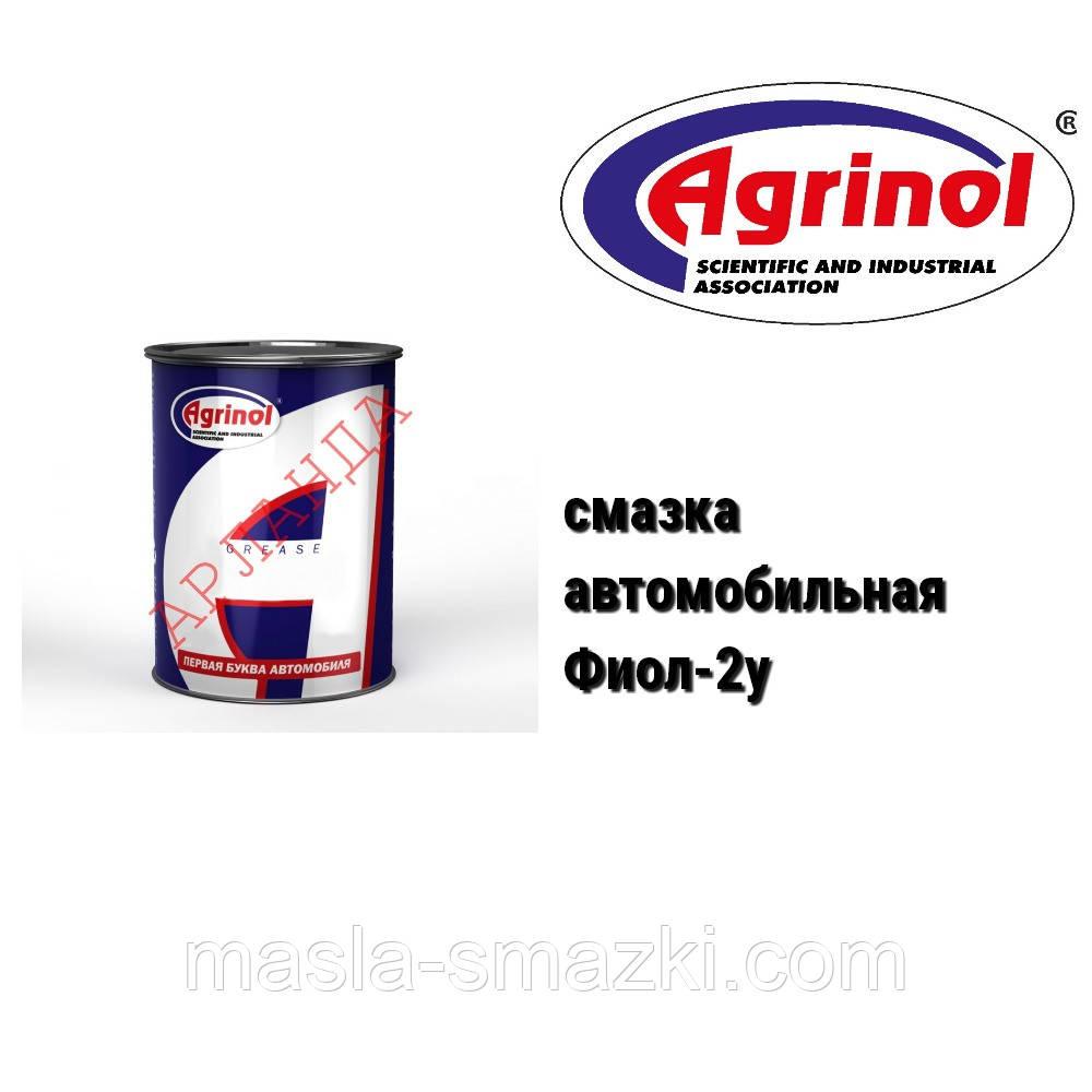 Агринол смазка автомобильная Фиол 2у (17 кг), фото 1