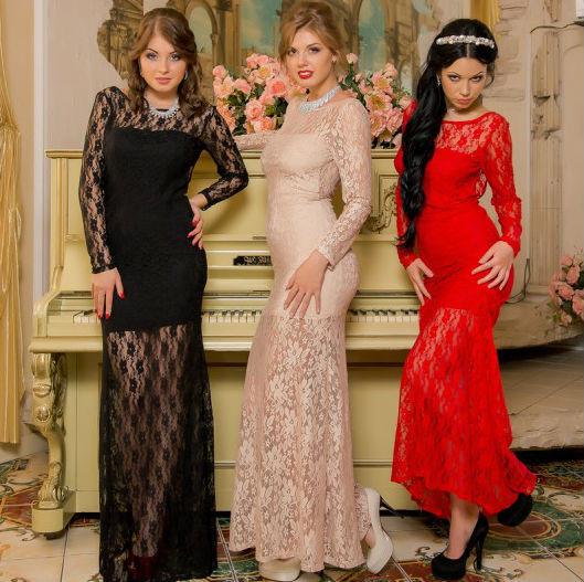 Женские платья гипюровые недорого