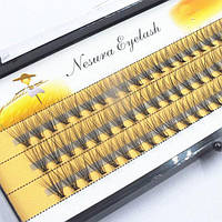 Ресницы безузелковые Nesura 20d - 10мм