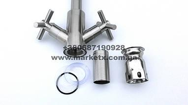 Змішувач для кухні з нержавіючої сталі, дуже висока якість!, фото 2