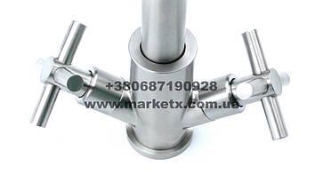 Змішувач для кухні з нержавіючої сталі, дуже висока якість!, фото 3