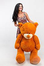 М'яка іграшка ведмедик з латками 150 см, карамель