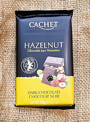 Шоколад Cachet Dark chocolate Hazelnut 300 gramm