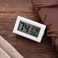 Гигрометр термометр электронный бытовой термогигрометр белый