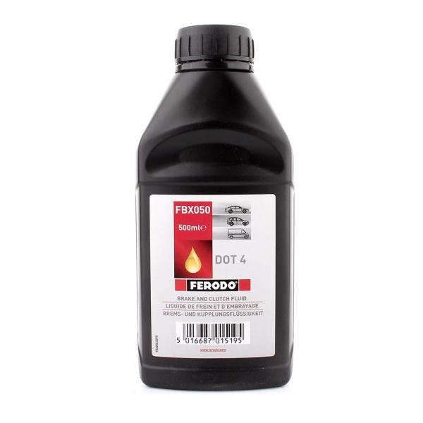 Тормозная жидкость FERODO DOT 4 FBX050A 0,5л