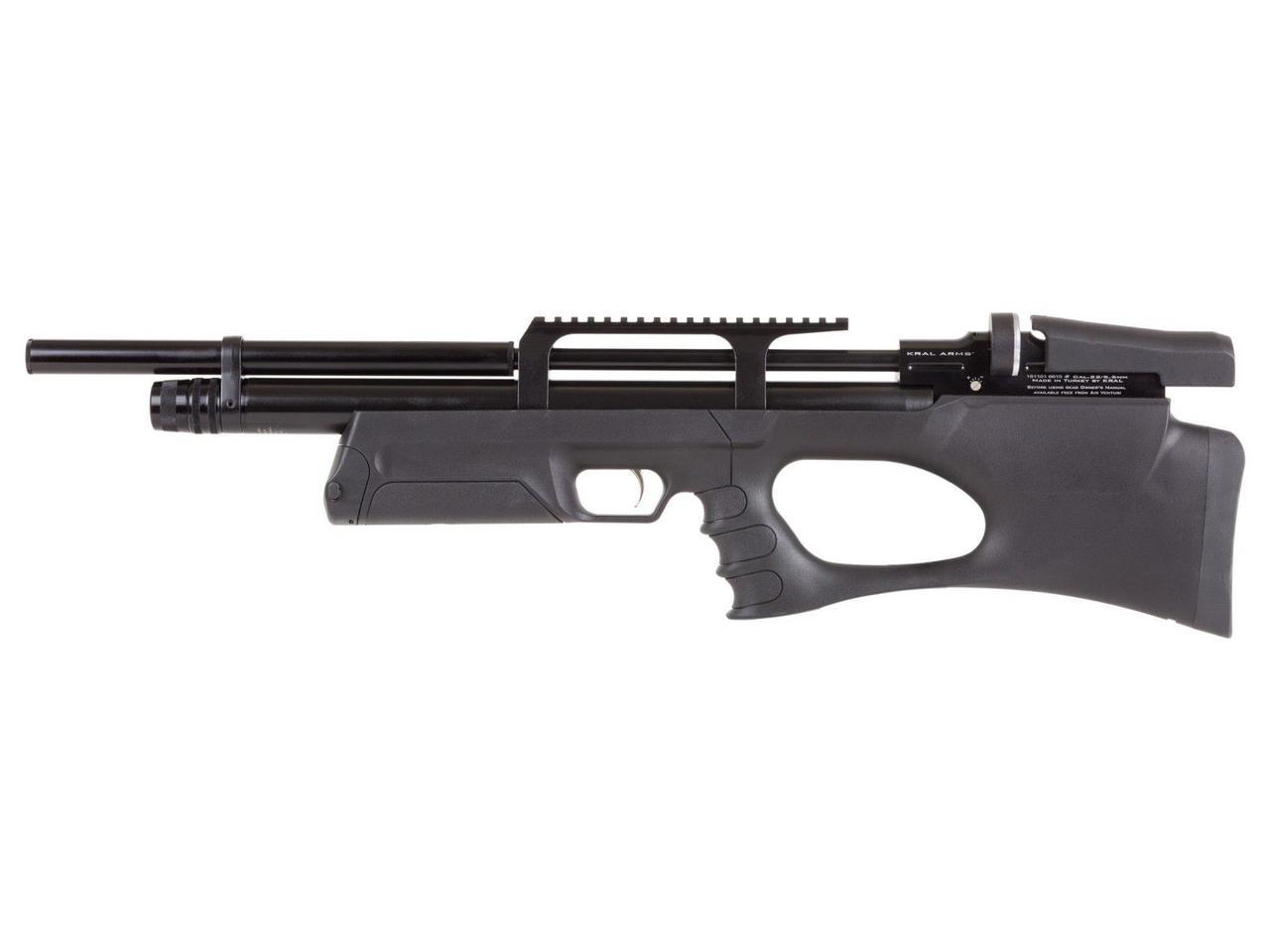Пневматична гвинтівка Kral Puncher Breaker PCP Synthetic + глушник