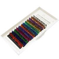 Ресницы Glitter Eyemix D, 0.15, 12мм. (12 Цветов), фото 1