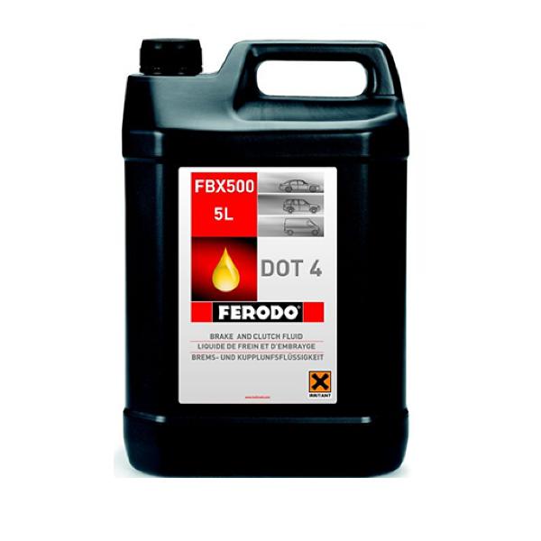 Тормозная жидкость FERODO DOT 4 FBX500 5л