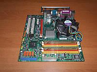 Материнская плата ECS G41T-M9 s775 + E8400 3 GHz + DDR3 4Gb комплект