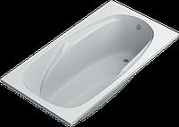 Акриловая ванна SWAN Simona 150х80х55 cм прямоугольная