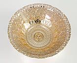 Винтажная пиала, тарелка, конфетница, стекло, эмаль, Англия , фото 2