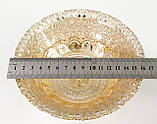 Винтажная пиала, тарелка, конфетница, стекло, эмаль, Англия , фото 8