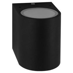 Настенный светильник Feron DH014 для подсветки фасадов черный под лампу GU10