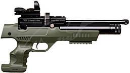 Пневматический пистолет Kral NP-01 PCP 4,5 мм ц:olive