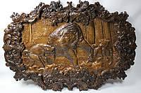 Картина з різьби ВЕДМІДЬ 78х62,5 см Frezer