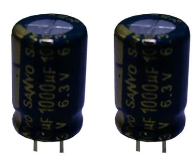 Конденсатор Sanyo 1000uF 6.3V
