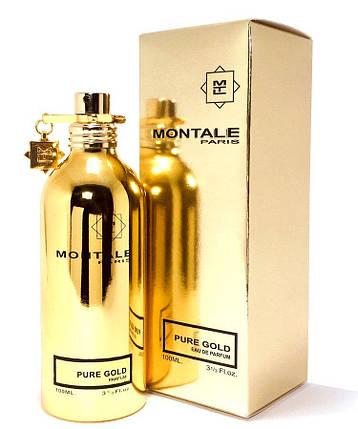 Женская парфюмированная вода Montale Pure Gold edp 100ml реплика, фото 2