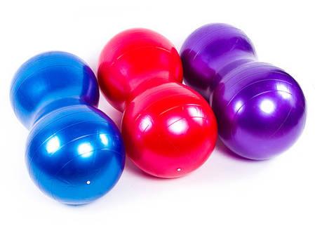 "Мяч фитнес ""арахис"" 45*90 см, GymBall KingLion, цвета в ассортименте., фото 2"