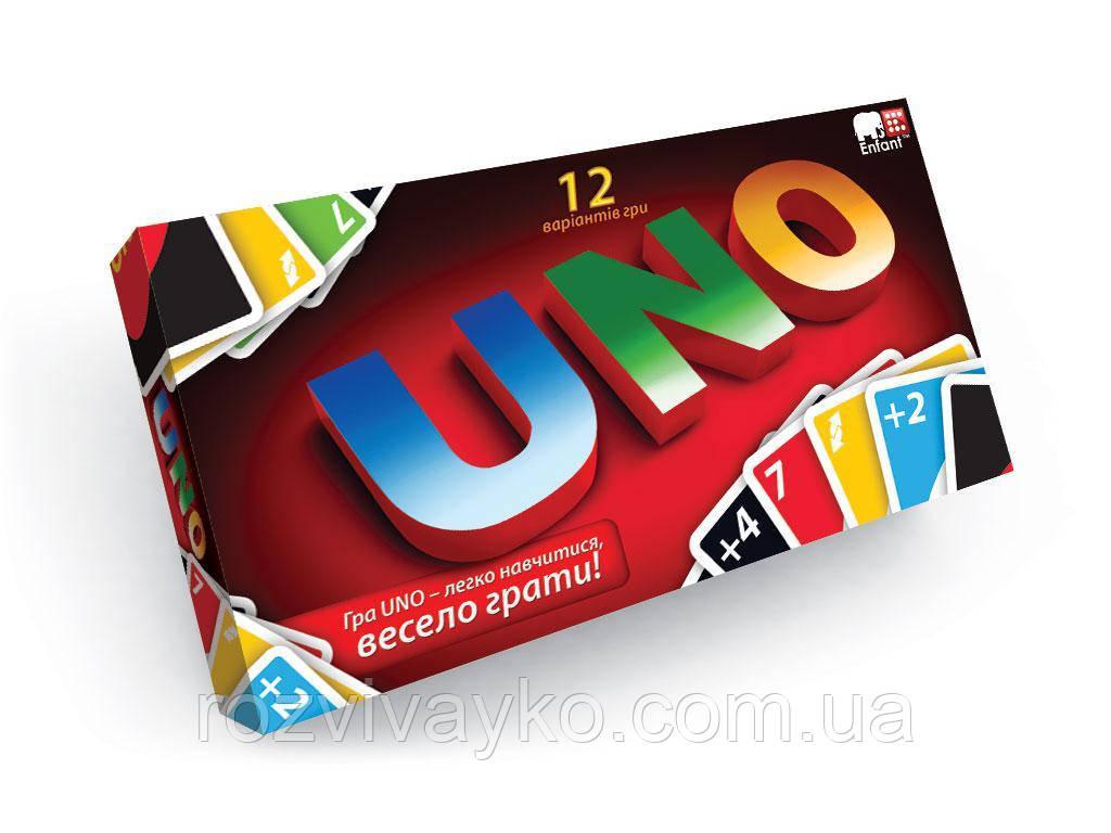 """Настольная карточная игра """"Uno"""" DankoToys"""