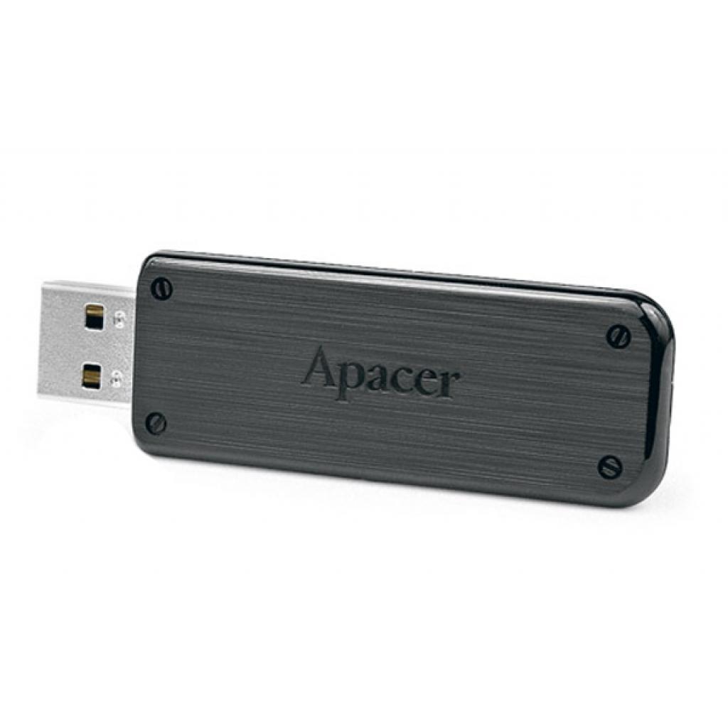 USB флеш накопитель Handy Steno AH325 black 8GB Apacer (AP8GAH325B-1)
