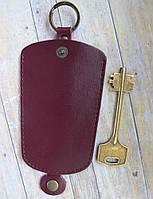 Чехол для ключей средний т-бордовый , фото 1