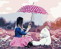 Художественный творческий набор, картина по номерам Девичьи мечты, 50x40 см, «Art Story» (AS0445), фото 1
