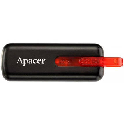 USB флеш накопитель Handy Steno AH326 black 32GB Apacer (AP32GAH326B-1), фото 2