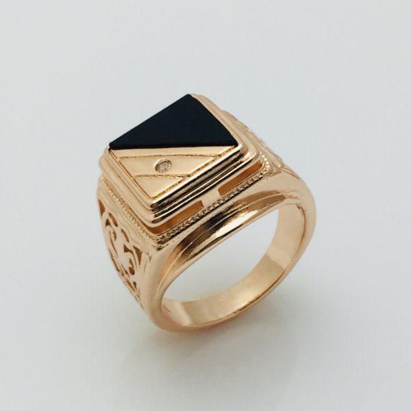 Перстень мужской, размер 19
