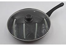 Сковорода с крышкой Benson BN-504 (28*5,5 см)