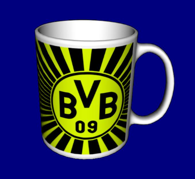 Чашка Боруссия Дортмунд