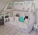 Детская кроватка Домик Напольная S, фото 5