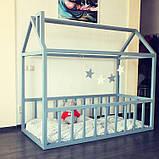Детская кроватка Домик Напольная S, фото 3