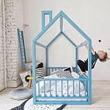 Детская кроватка Домик Напольная S, фото 2