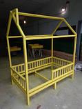 Дитяче ліжечко Будиночок Стандарт +, фото 2
