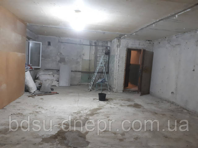 Квартира после демонтажа