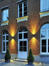 Настенный светильник Feron DH015 для подсветки фасадов черный под лампу GU10, фото 3