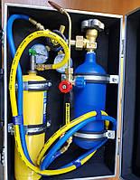 Сварочный пост СП-002 в чемодане  ( кислород 2 литра + 1 литра  пропан)
