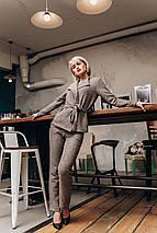 """Женский шерстяной брючный костюм """"Кatana"""" с жакетом (3 цвета), фото 3"""