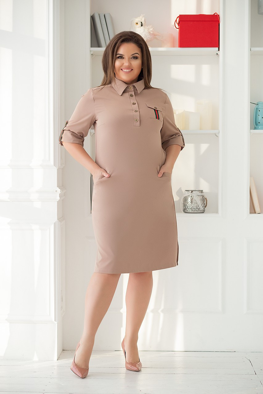 Женское модное платье  НВ471А (бат)