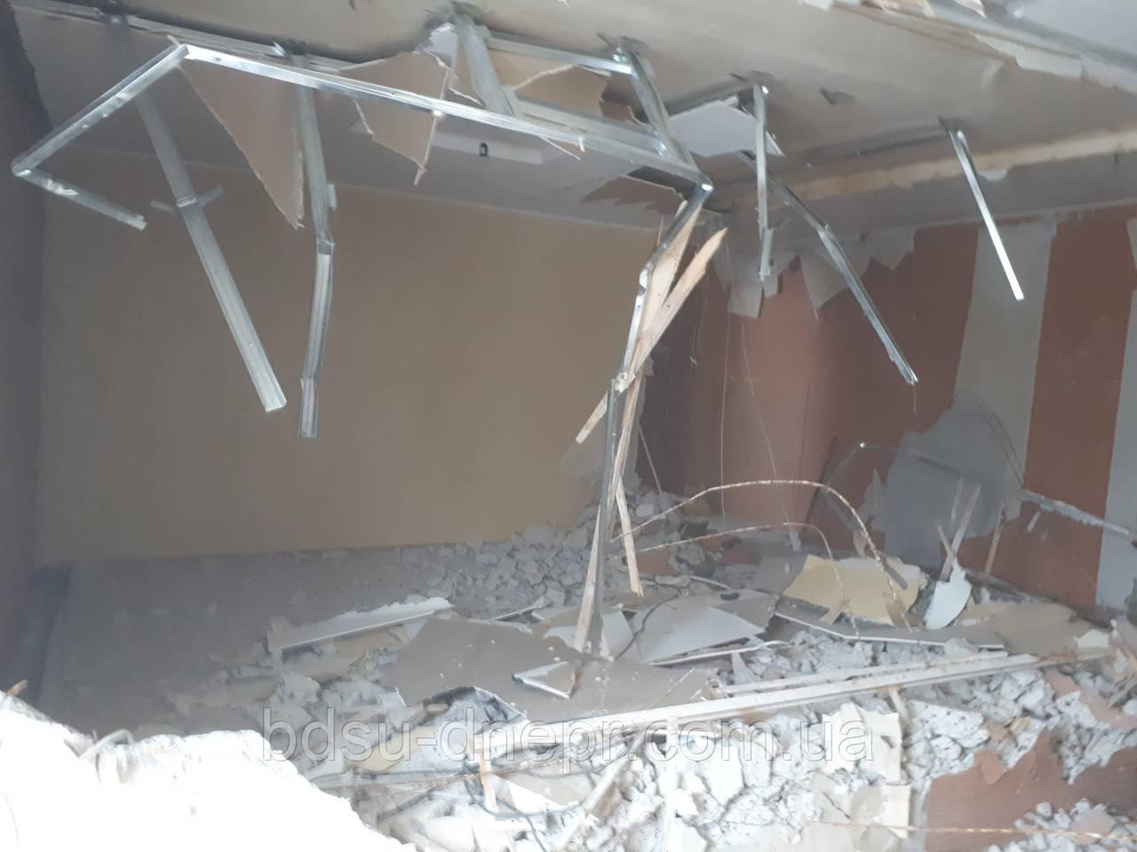 Демонтаж в Днепропетровске