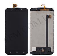 Дисплей (LCD) Bravis A553 Discovery Dual Sim/ S-TELL M555/ UMI Rome X + сенсор чёрный